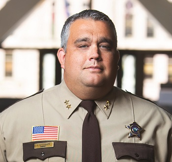 Sheriff's Official Portrait Cropped